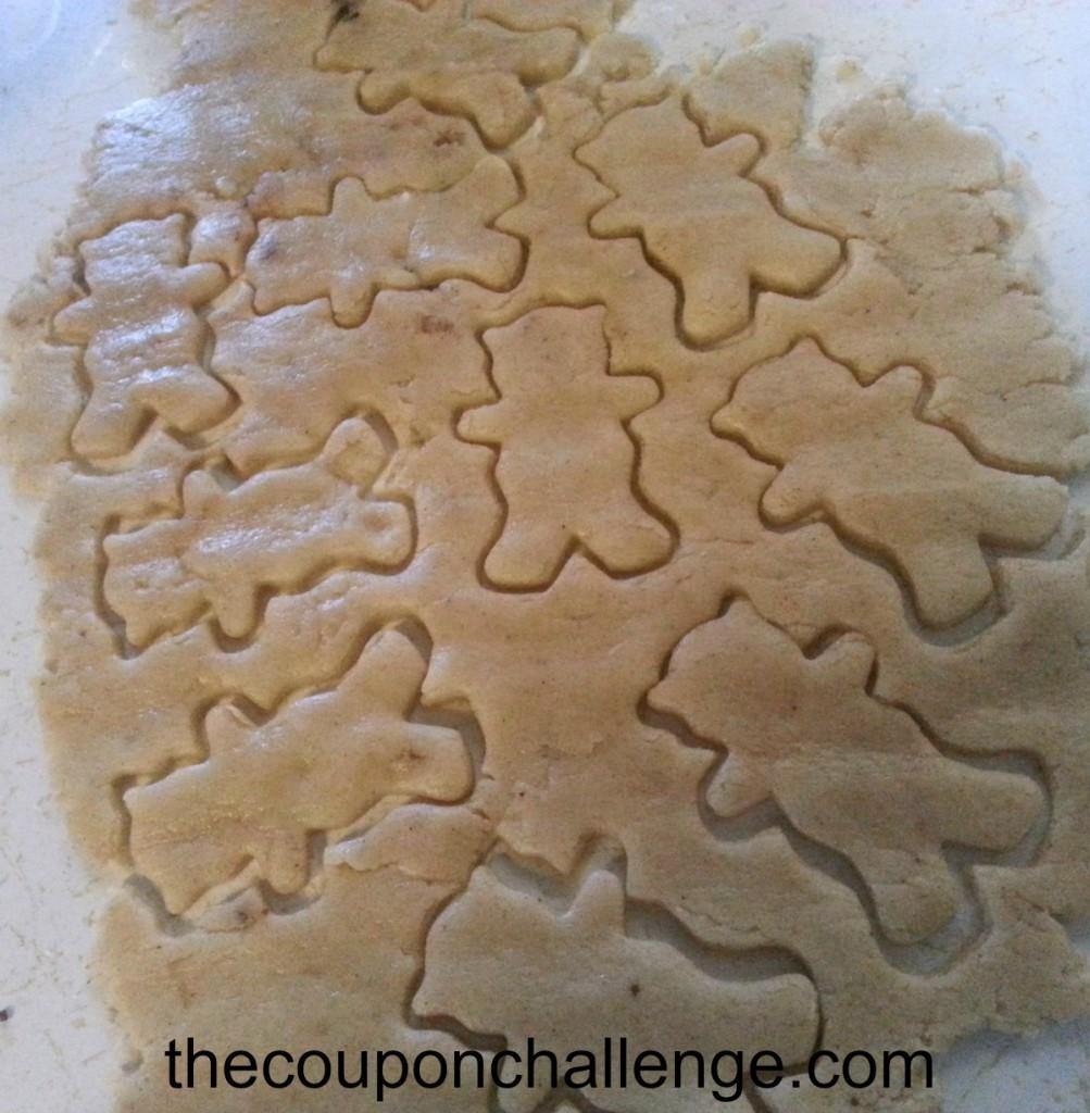 Vegan Ginger Cookie Prep