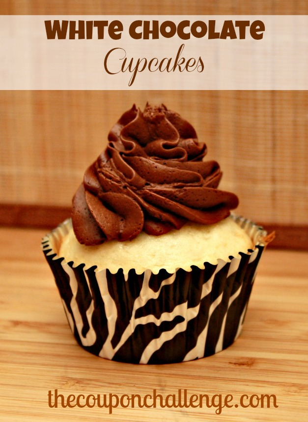 White Chocolate Cupcakes Recipe