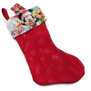 looking for new christmas stockings this sale is perfect for disney fans