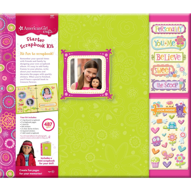 American Girl Doll Craft Book Kits