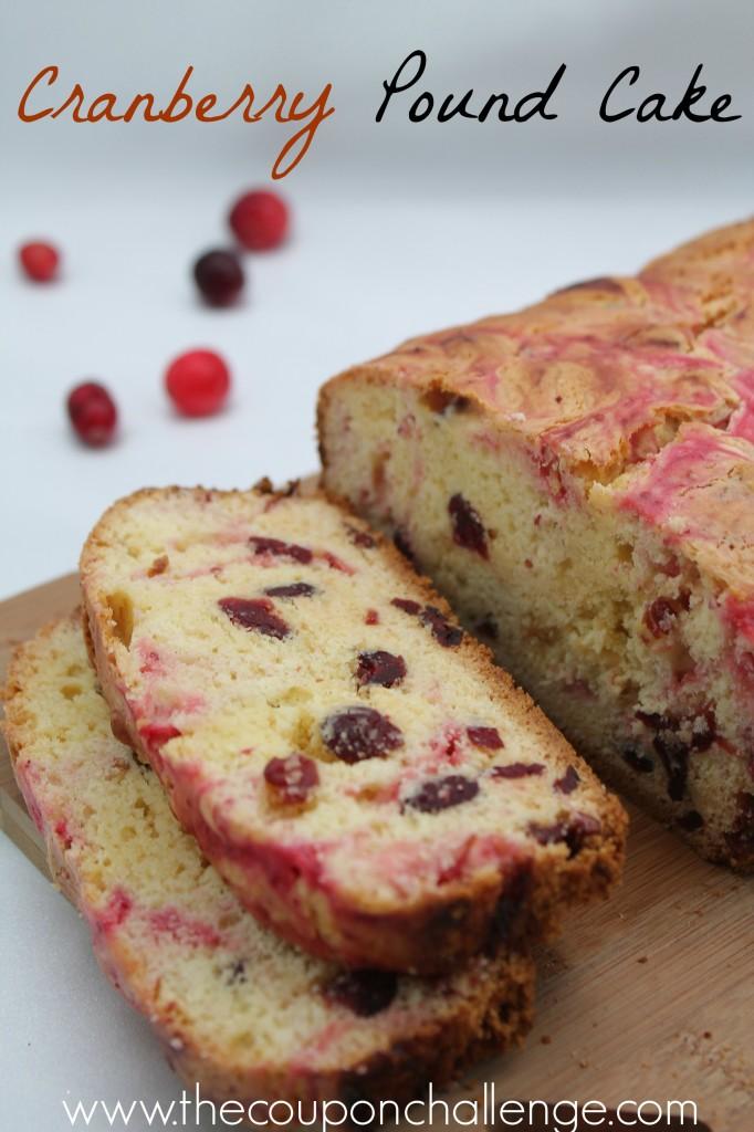 Cranberry Pound Cake Recipe