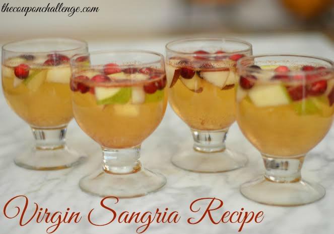 Virgin Sangria Recipe