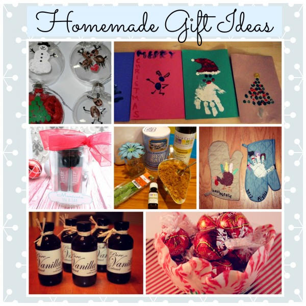 Homemade gift ideas for christmas Homemade christmas gifts