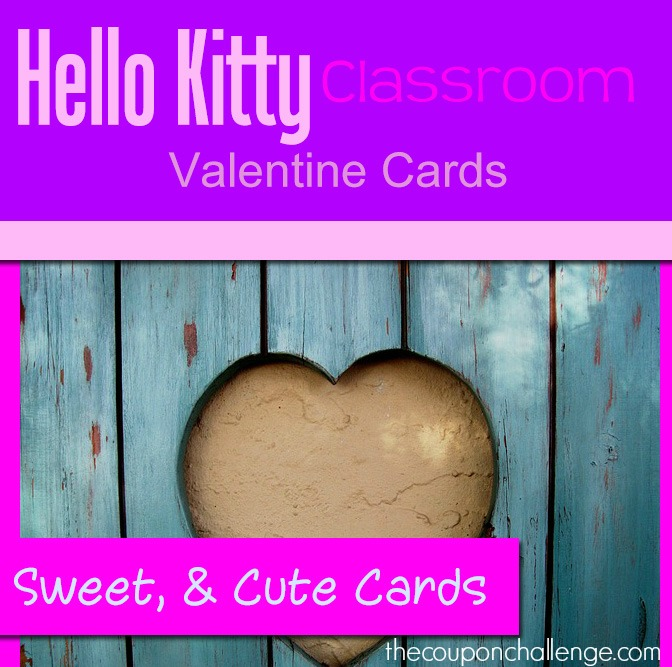 Valentines Day Archives The Coupon Challenge – Hello Kitty Valentine Cards