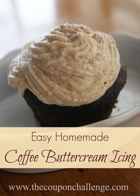 Coffee Buttercream Frosting Recipe
