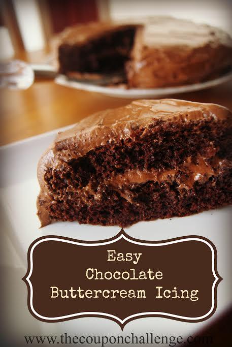 Chocolate Buttercream Icing Recipe