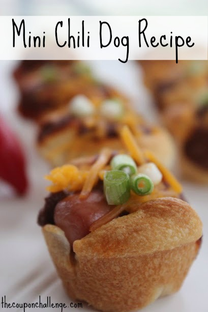 Mini Chili Dog Recipe