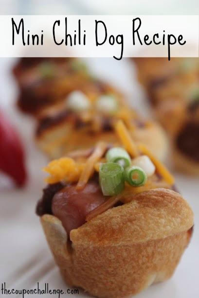 Mini Chili Dog Recipe