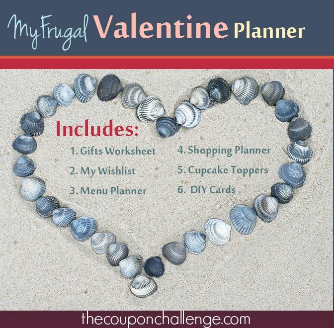 My Frugal Valentine Planner