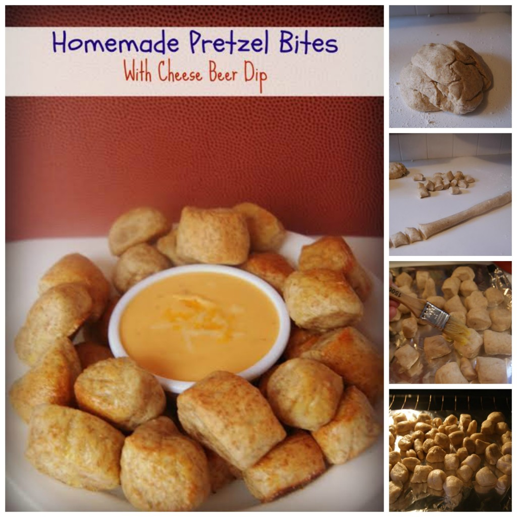 Pretzel Bites with Beer Cheese Dip