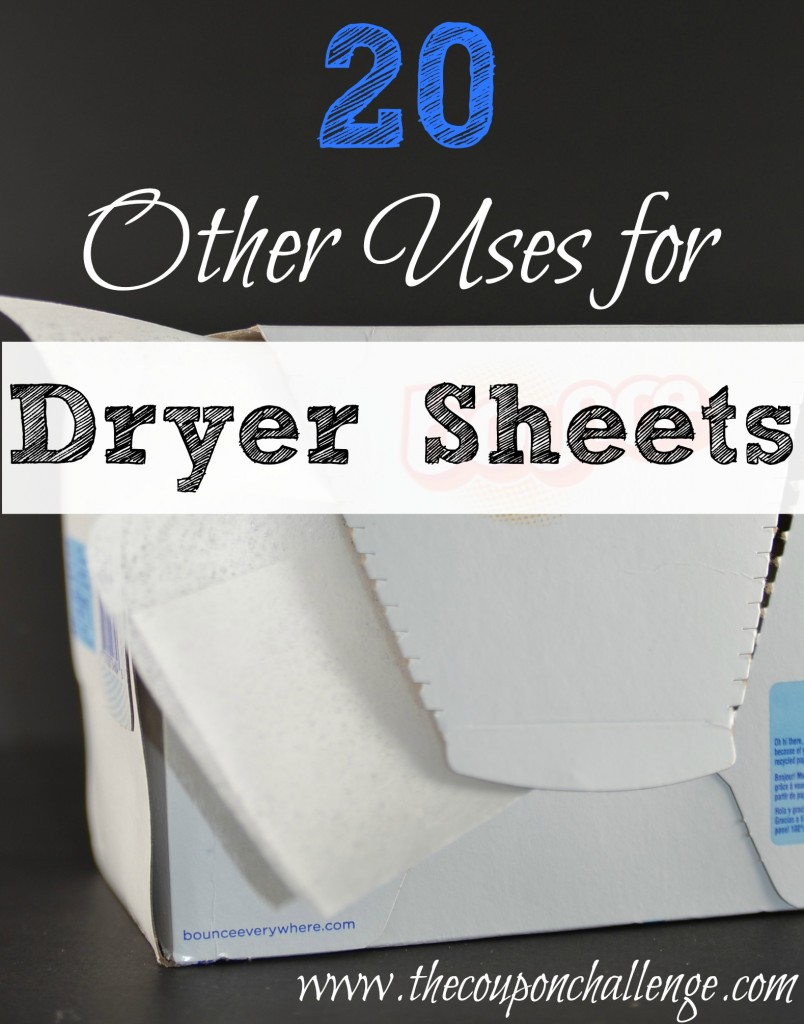 20 Other Uses for Dryer Sheets