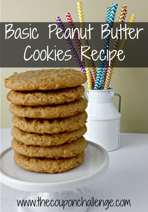Basic Peanut Butter Cookies recipe