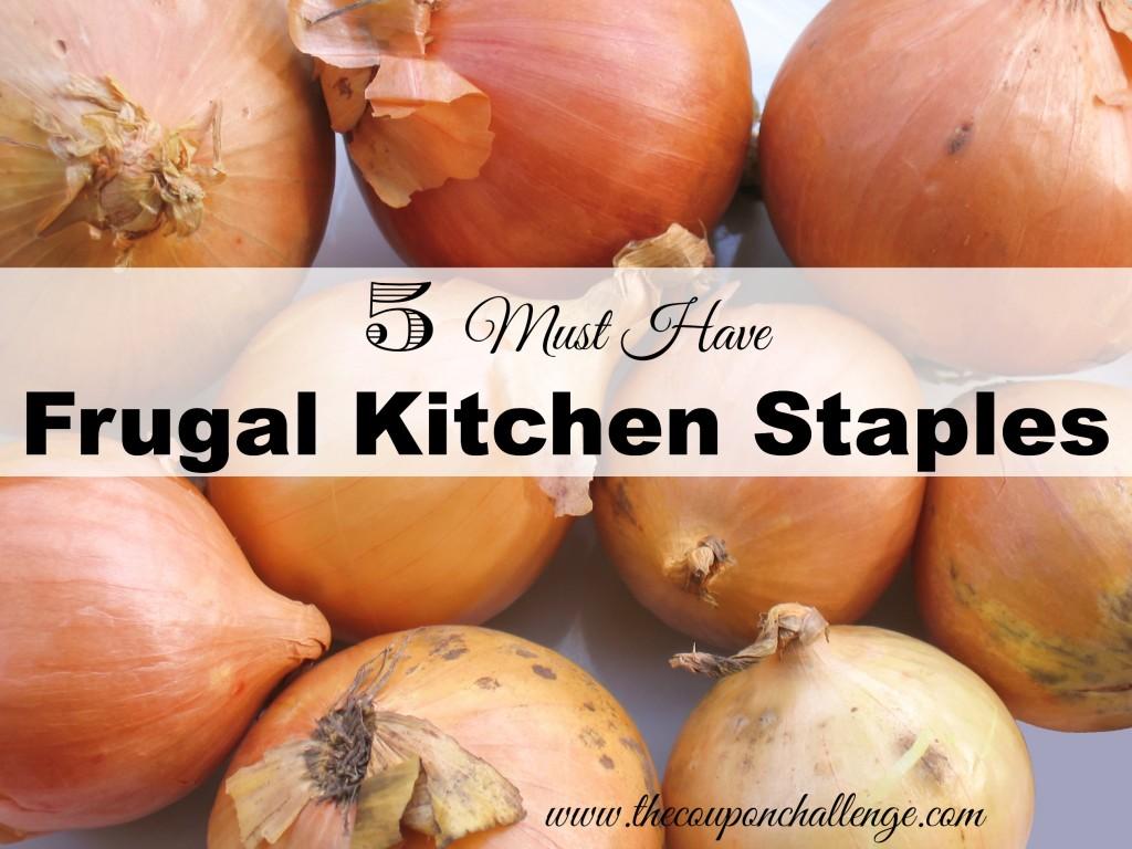 Frugal Kitchen Staples