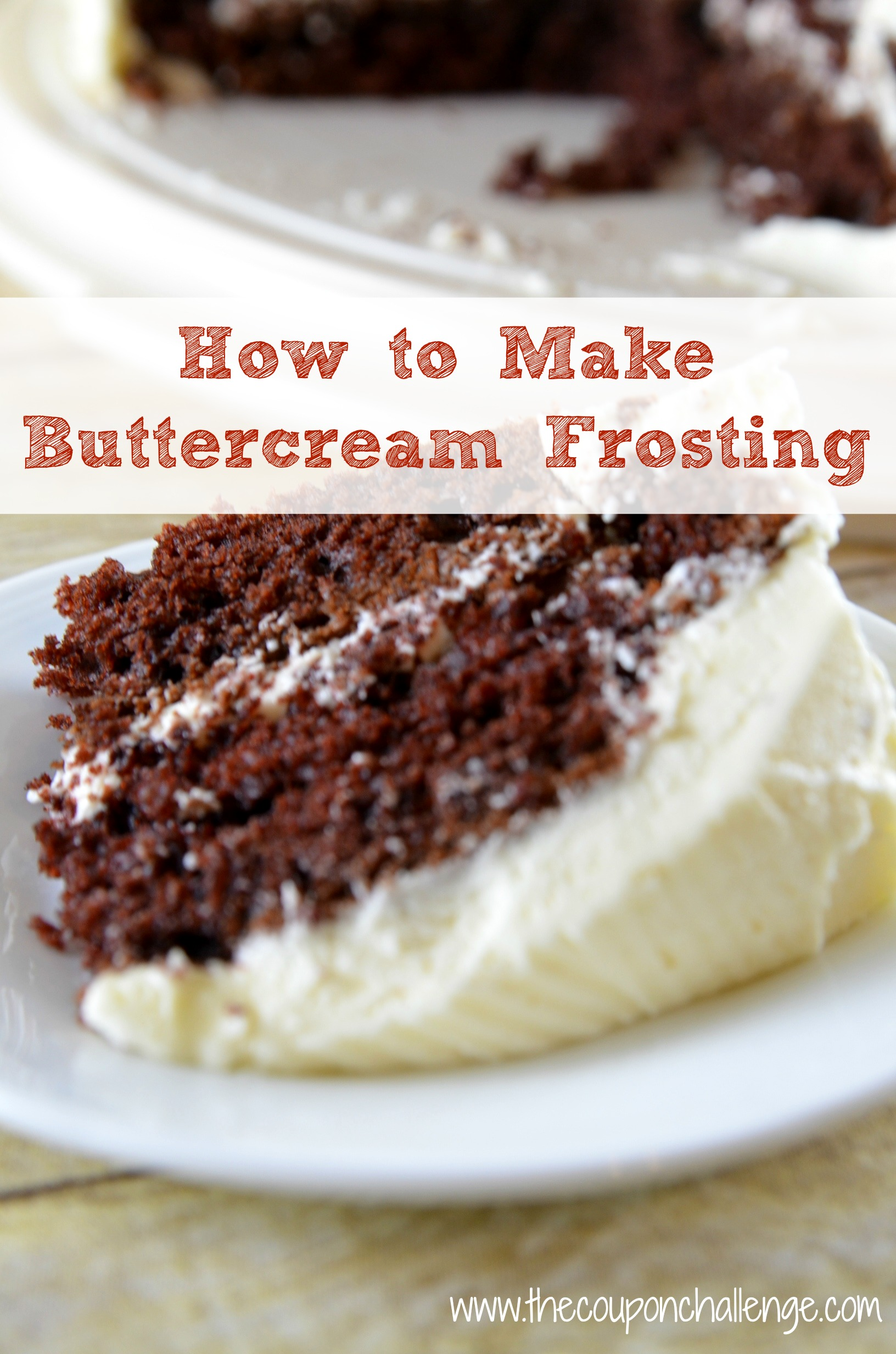 how to make your own buttercream frosting