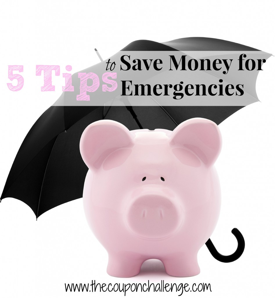 Saving Money on Emergencies