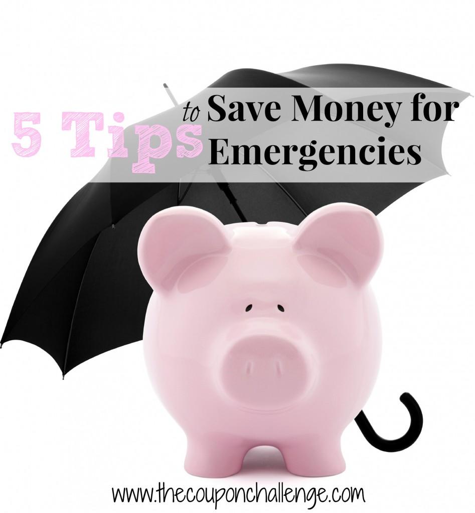 Saving Money on Emergencies
