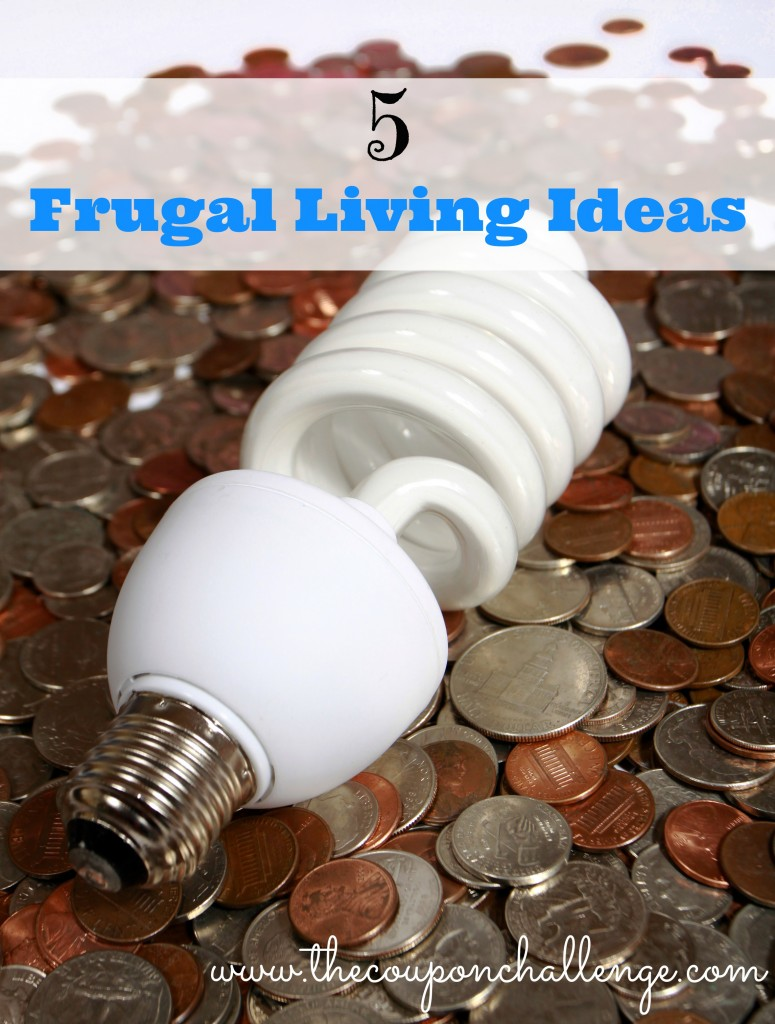 5 Frugal Living Ideas