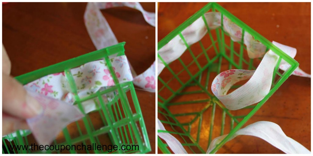 Easter Basket Craft for Kids Directions