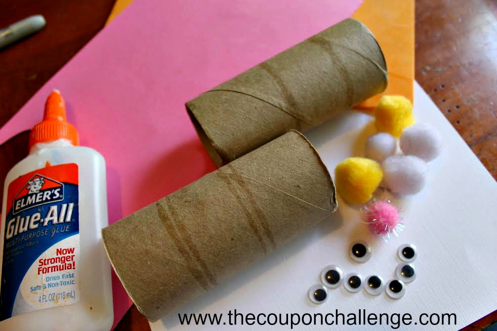 Easter Bunny Napkin Holder Supplies