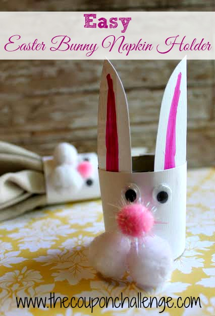 Easter Bunny Napkin Holder