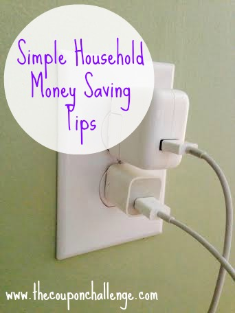 Household Money Saving Tips
