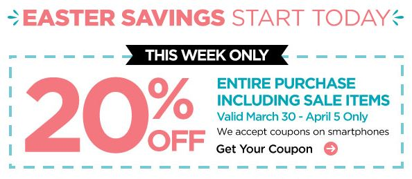 Weekly craft store printable coupons for Weekly ad for michaels craft store