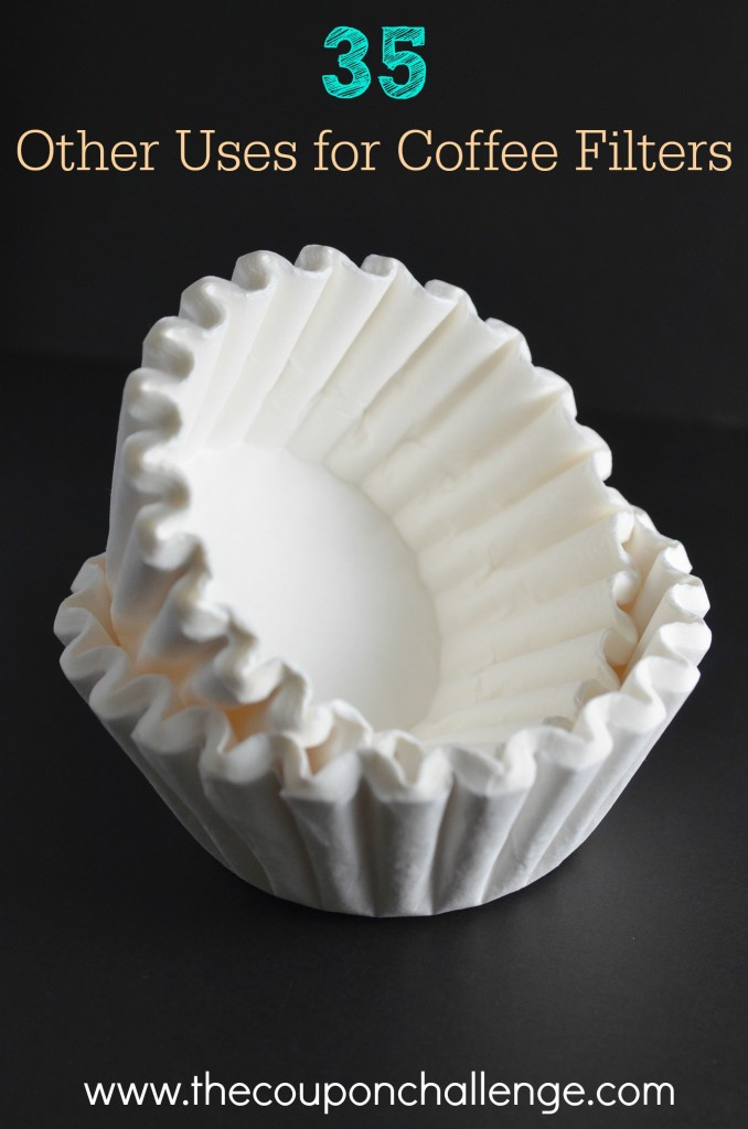 Other Uses for Coffee Filters