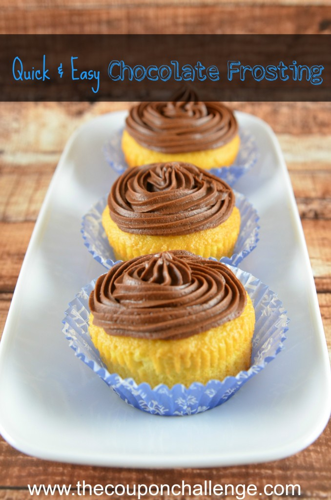 Quick Easy Chocolate Frosting Recipe