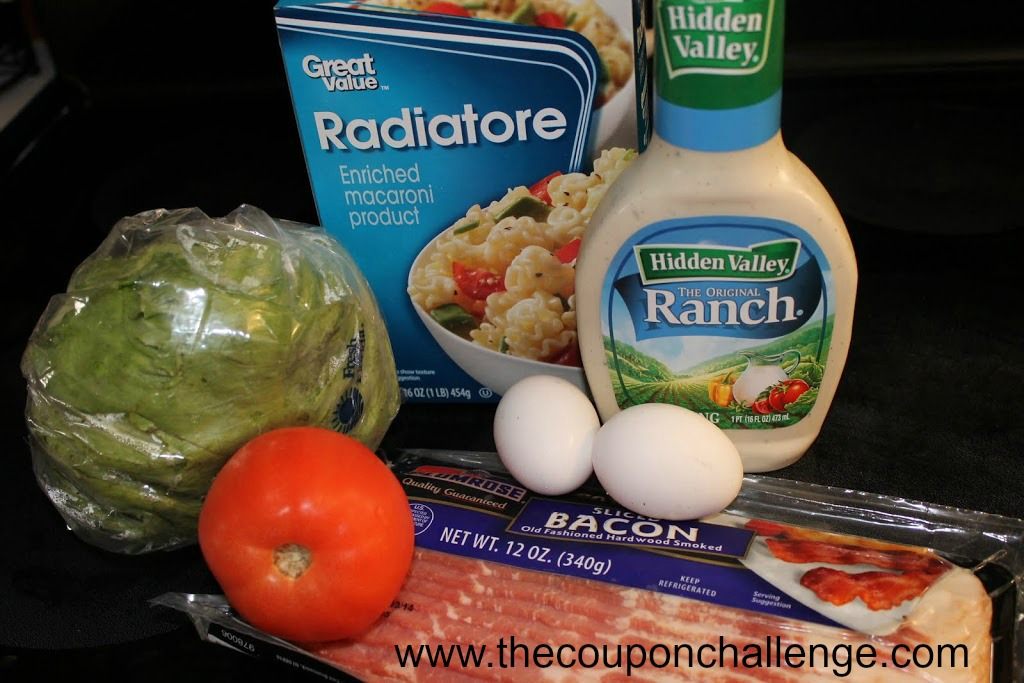 Quick Simple Pasta Salad Ingredients