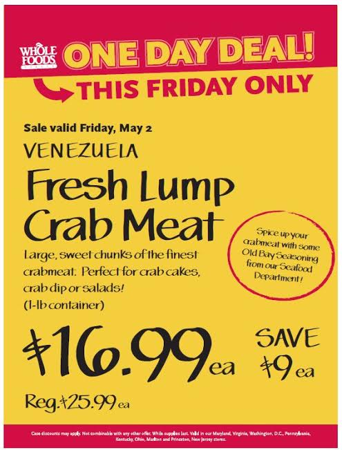 lump crab meat coupons