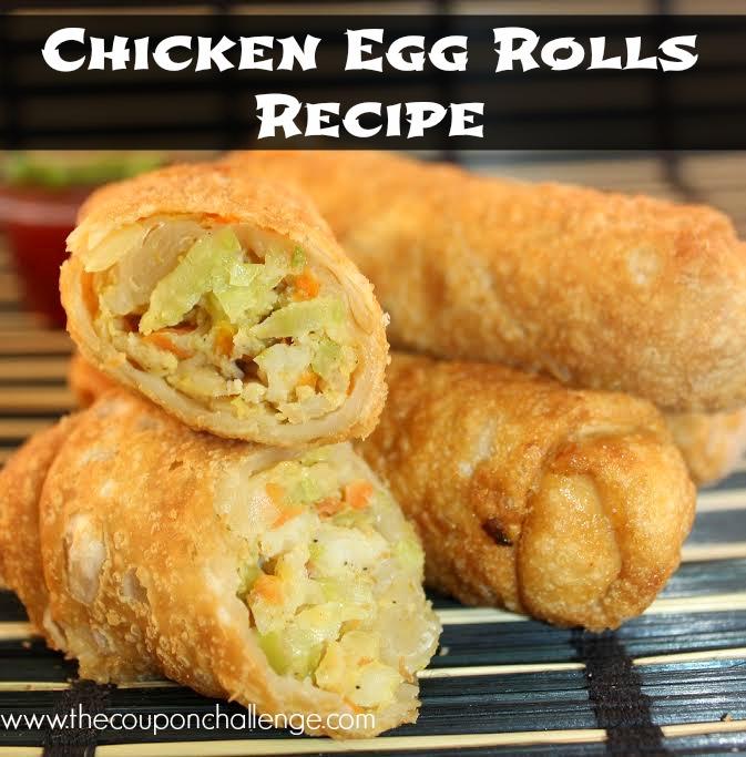 Chicken Egg Rolls Recipe 1
