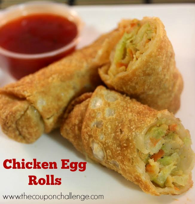Chicken Egg Rolls Recipe 2