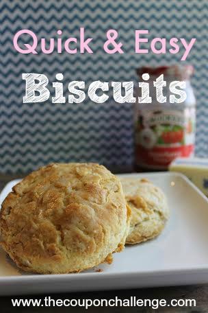 Quick Easy Biscuits