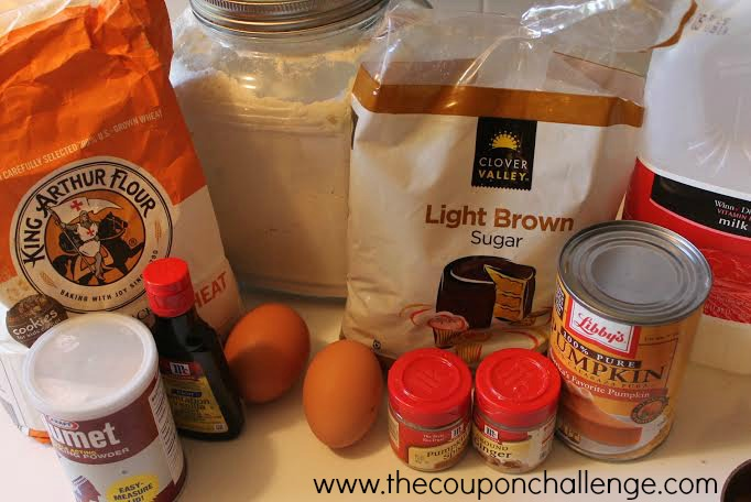 Weight Watchers Pumpkin Muffins Ingredients