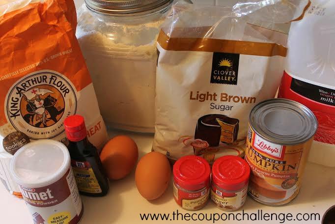 Weight Watchers Pumpkin Muffins Ingredients