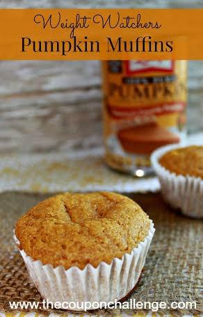 Weight Watchers Pumpkin Muffins
