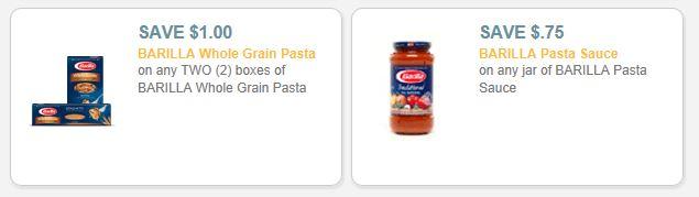 barilla sauce and pasta