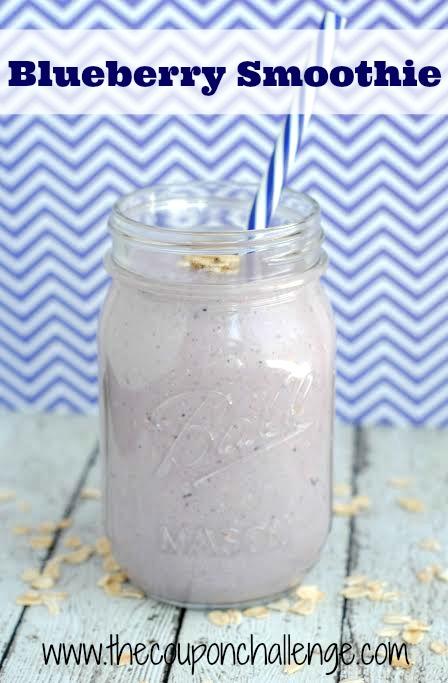 recipe blueberry smoothie