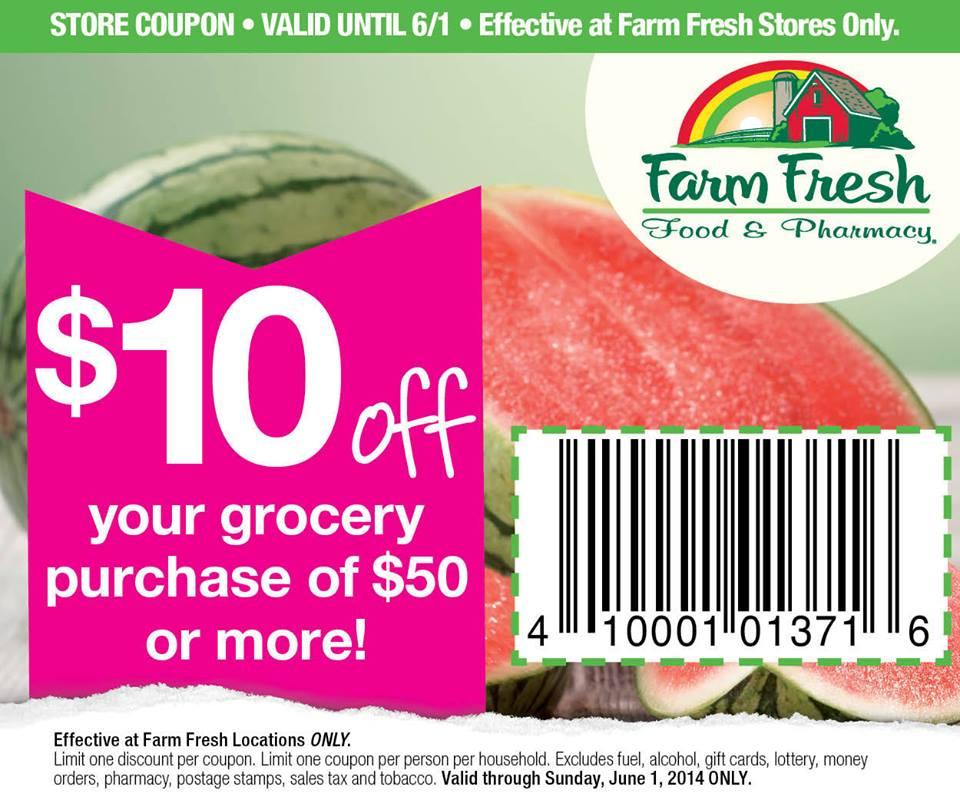 Cox farm discount coupons