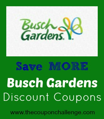 Busch Gardens Williamsburg Discount Autos
