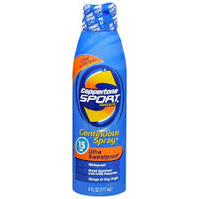 Coppertone Sport Sunscreen spray