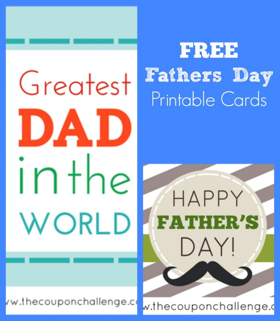 Fathers Day Free Printable Cards