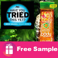 Herbal Essences Body Wash sample
