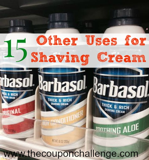 Other Uses for Shaving Cream