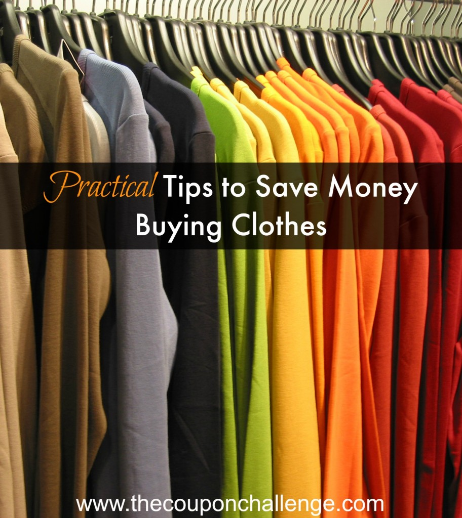 Saving Money Buying Clothing