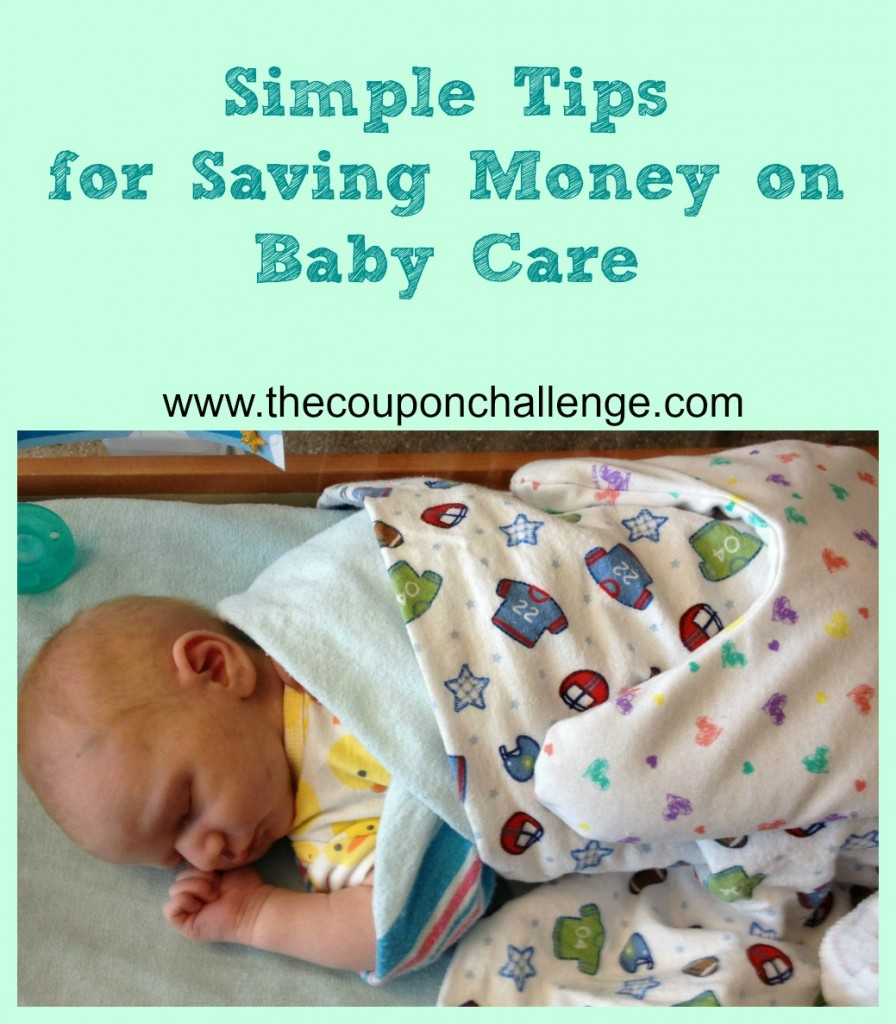 Saving Money on Baby Care