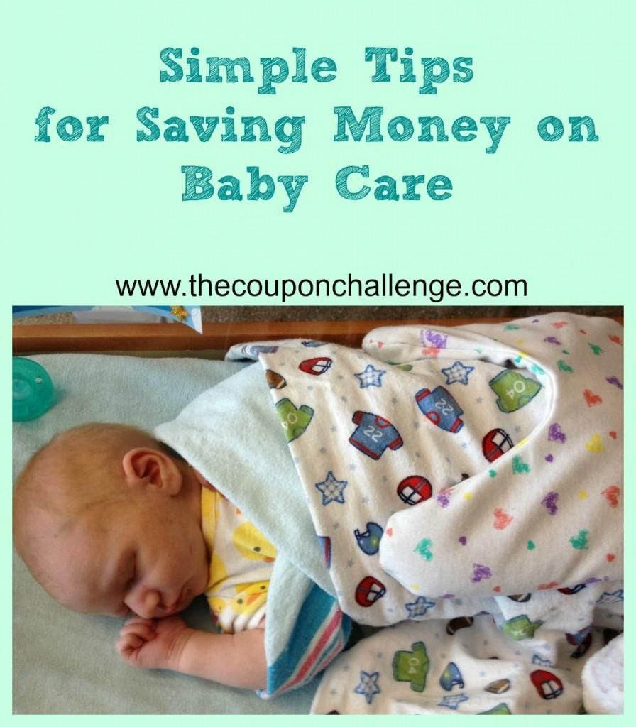 Saving Money on Baby Care