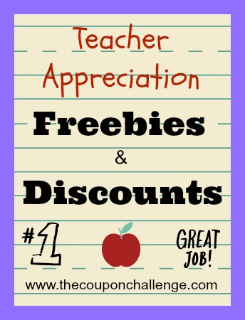 Teacher Appreciation Week Discounts & Freebies