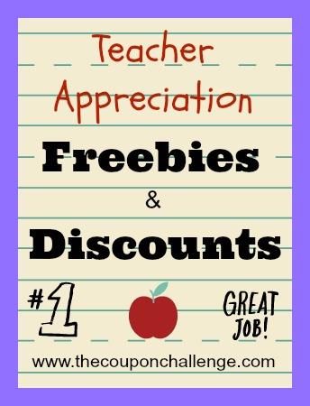 Teacher Appreciation Week Discounts & Freebies