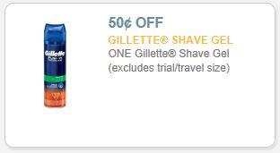 gillette shave